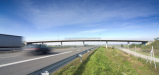 Overpass 4-7, Motorway A5, section Bletinci - Lendava