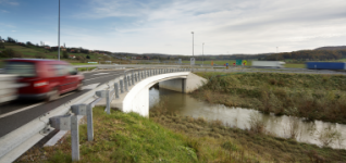 Brigde 5-5, Motorway A5, section  Maribor - Lenart