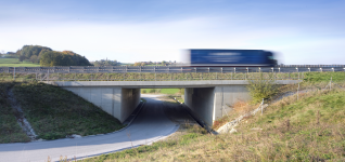 Underpass Cogetinci, Motorway A5, section  Maribor - Lenart