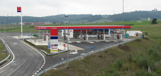 PETROL STATION LORMANJE SOUTH at the section Lenart-Sp. Senarska, in the settlement of Lormanje